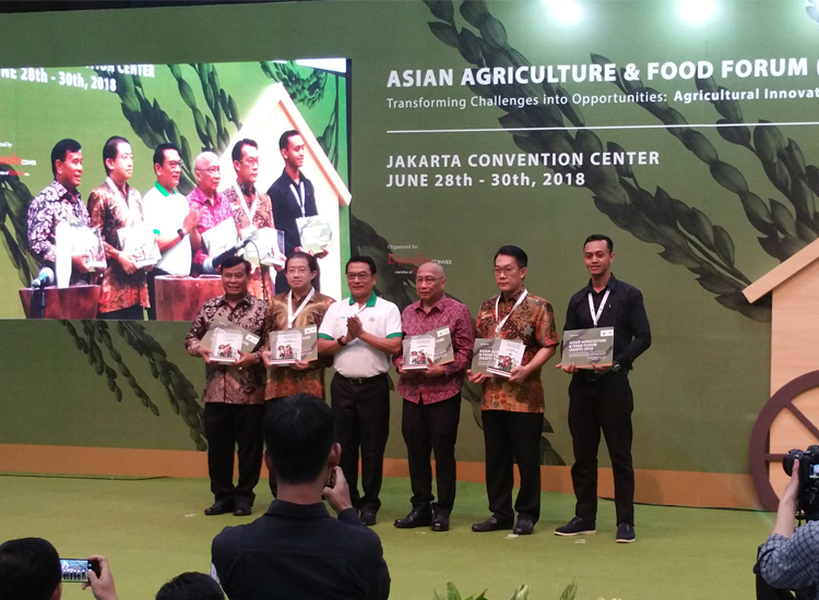 FKS Multi Agro (FKS MA) in Asian Agriculture and Food Forum (ASAFF) 2018