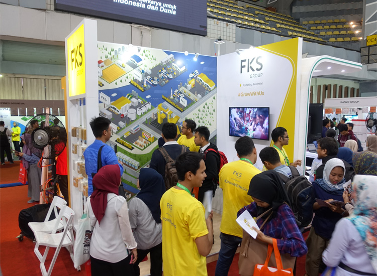 FKS Group joined Job Fair Events in UI & ITB