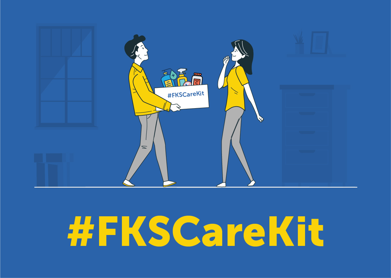 5,000+ #FKSCareKit for FKS Group Employees