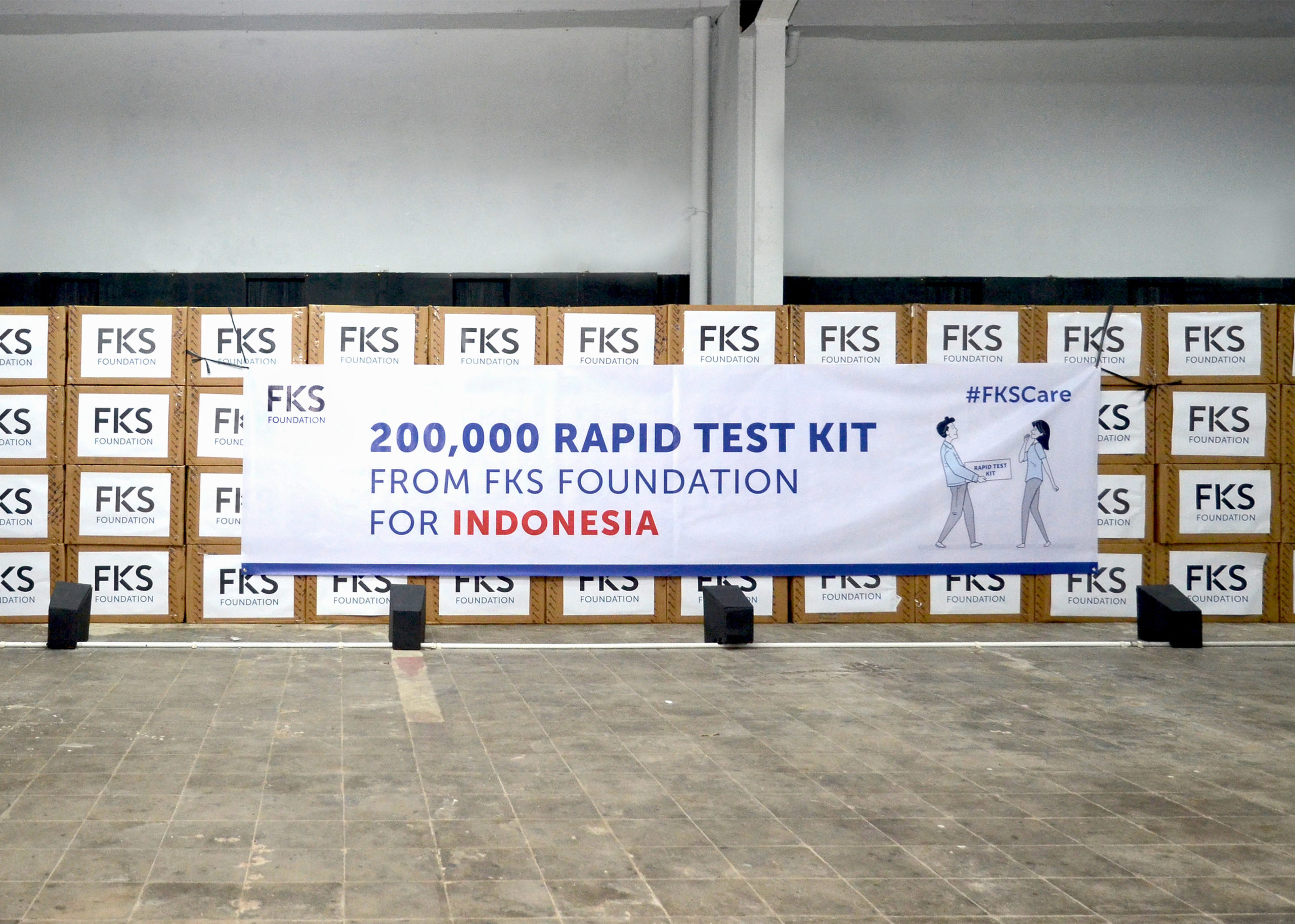 200,000 Rapid Test Kit for Indonesia