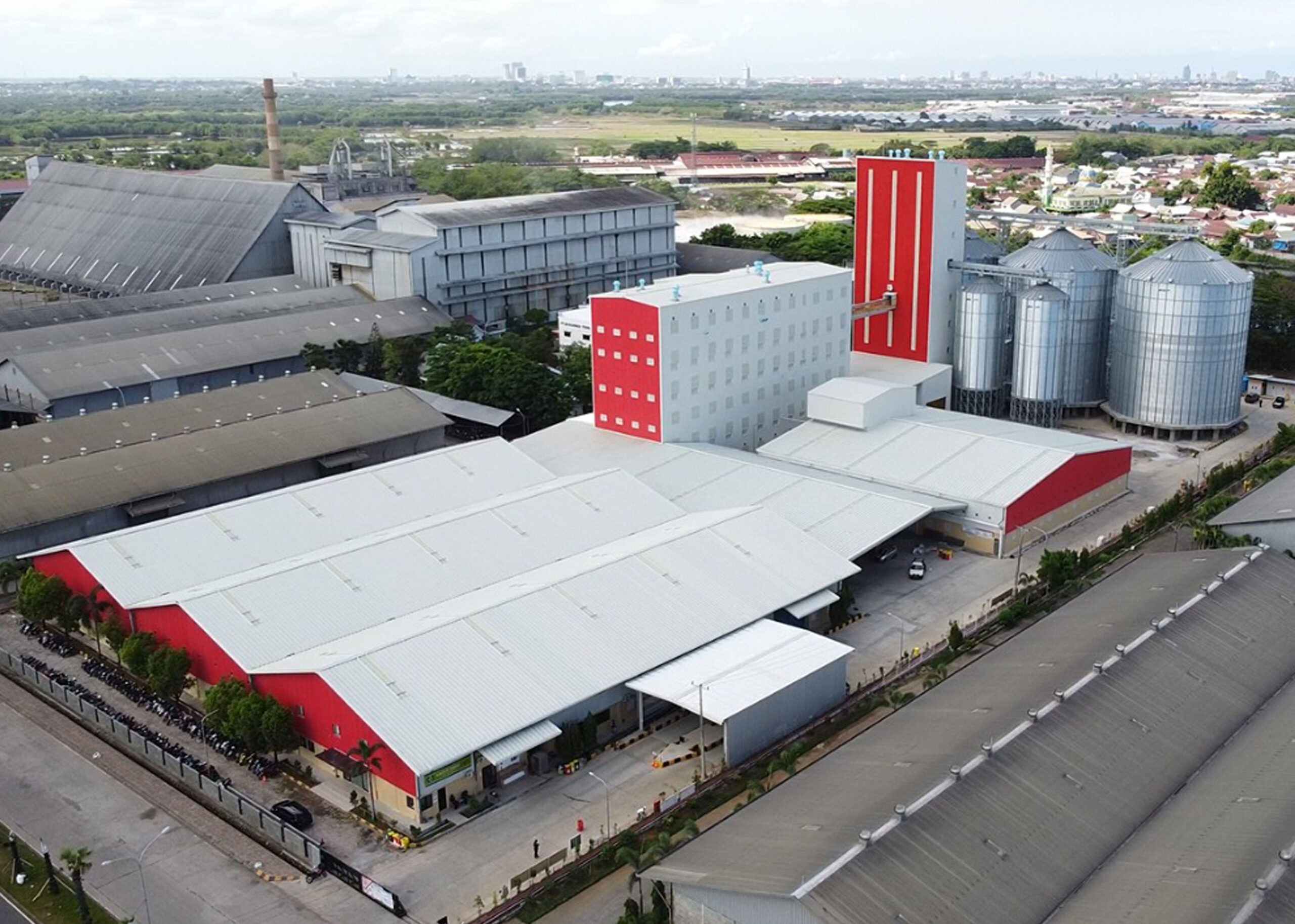 Bungasari – New Flour Mills Facilities in Makassar and Medan